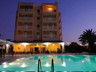 Sunset Hotel, Corfu