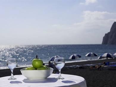 Santorini Reflexions Sea