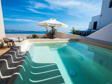 Passion Blue Villas Oia Santorini