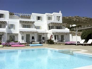 Yakinthos Residence Panormos Mykonos