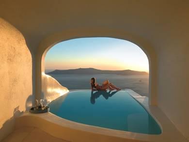 Sun Rocks Relais & Chateaux Firostefani Santorini