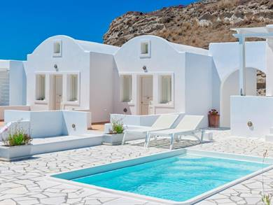 Katharos Pool Villas Oia Santorini