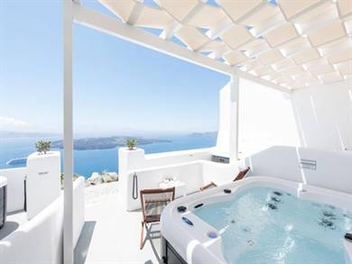 Exclusive Plan Suites Santorini