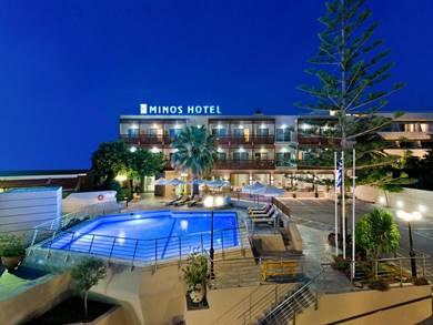 Minos Hotel Rethymno Creta