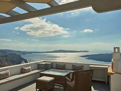 Villa Dakoronia Fira Santorini