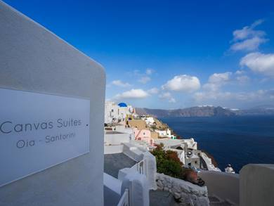 Canvas Suites Oia Santorini