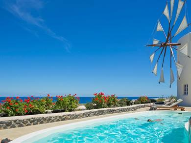 Windmill Villas Imerovigli Santorini