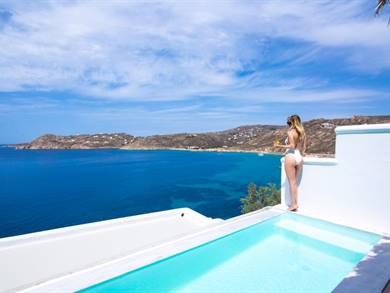 Greco Philia Hotel Boutique Mykonos Elia Beach