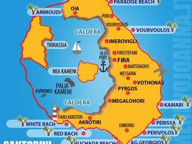 Dove soggiornare a Santorini
