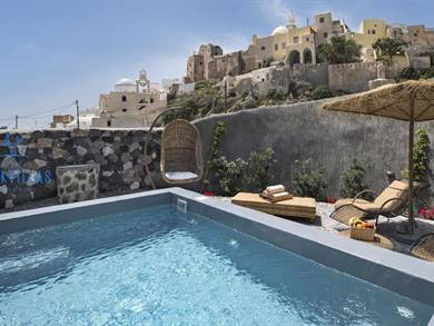 Rock Villas Complex Santorini