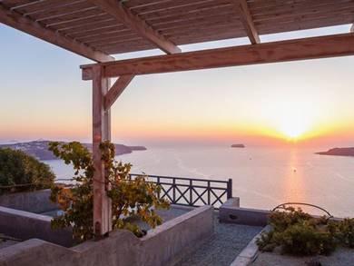 Aegagros Caldera Houses Megalokhori Santorini