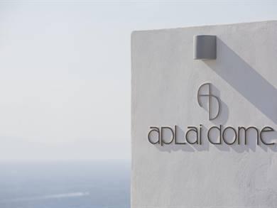 Aplai Dome Oia Santorini
