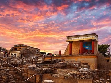 Palazzo di Cnosso Isola di Creta