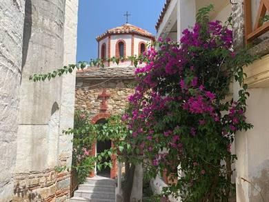 Monastero dell'Evangelista Isola di Skopelos