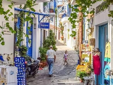 Villaggio di Glossa Isola di Skopelos