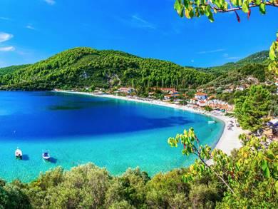Spiaggia di Panormos Isola di Skopelos