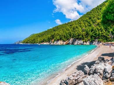 Spiaggia di Kastani Isola di Skopelos