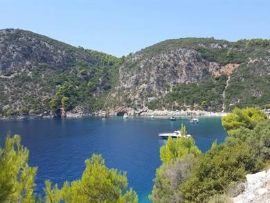 Spiaggia di Limnonari Isola di Skopelos