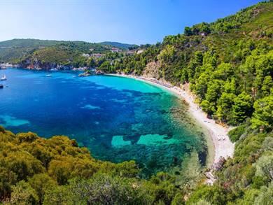 Spiaggia di Stafylos Isola di Skopelos
