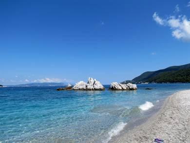 Spiaggia di Milia Isola di Skopelos