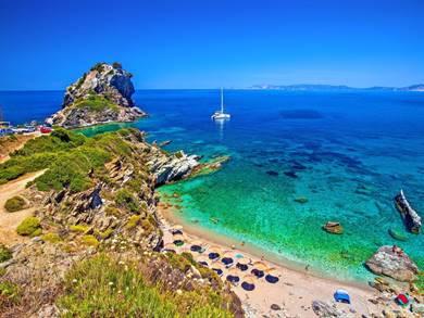 Spiaggia di Agios Ioannis Isola di Skopelos
