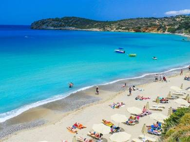 Spiaggia di Voulisma Isola di Creta