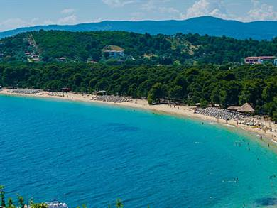 Spiaggia di Koukounaries Isola di Skiathos