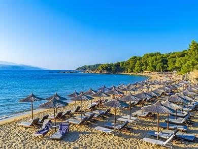 Spiaggia di Banana Beach Isola di Skiathos