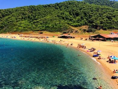 Spiaggia di Aselinos Isola di Skiathos