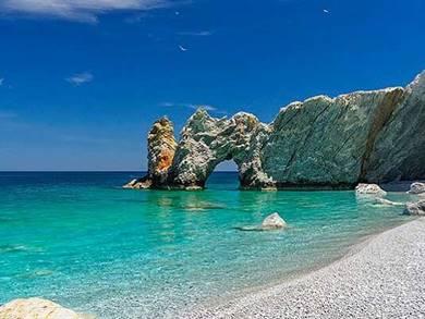 Spiaggia di Lalaria Isola di Skiathos