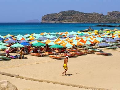 Spiaggia di Falasarna Isola di Creta