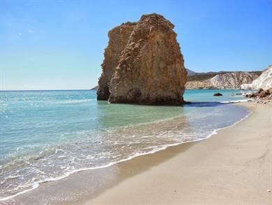 Spiaggia di Firiplaka Isola di Milos