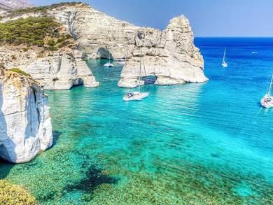 Spiaggia di Kleftiko Isola di Milos