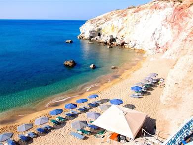 Spiaggia di Paliochori Isola di Milos