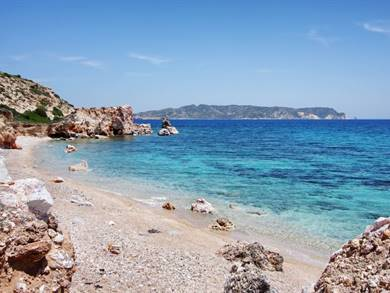 Spiaggia di Kastanas Isola di Milos