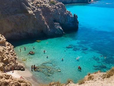 Spiaggia di Tsigrado Isola di Milos