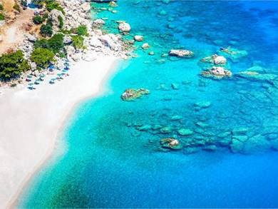 Spiaggia di Apella Isola di Karpathos