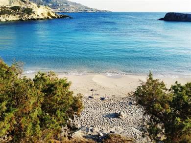 Spiaggia di Lefkos Isola di Karpathos