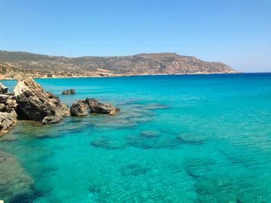 Spiaggia di Amoopi Isola di Karpathos