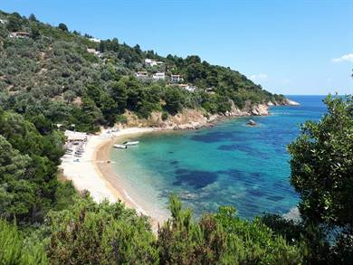 Spiaggia di Diamandi Isola di Skiathos