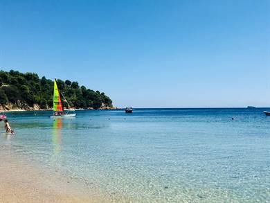 Spiaggia di Troulos Isola di Skiathos