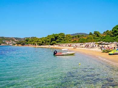Spiaggia di Vromolimnos Isola di Skiathos