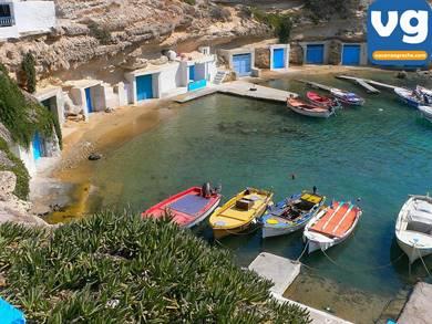 Spiaggia di Mandrakia Milos