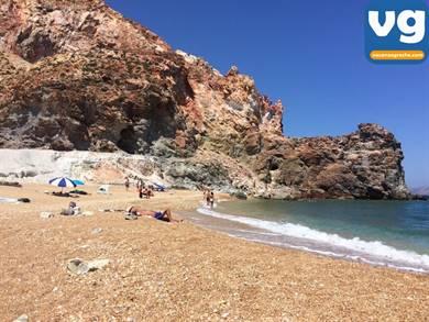 Spiaggia di Thiorichia Milos
