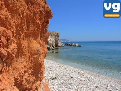 Spiaggia di Kastanas Milos
