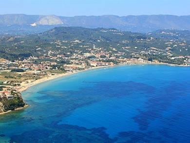 Villaggio e spiaggia di Tsilivi