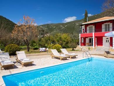 Red Villa Lefkada