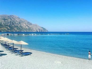 Spiaggia di Diafani Isola di Karpathos