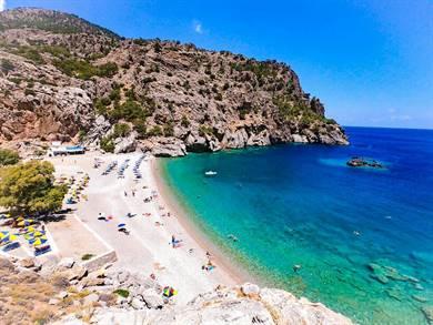 Spiaggia di Achata Isola di Karpathos