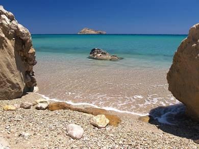 Spiaggia di Damatria Isola di Karpathos
